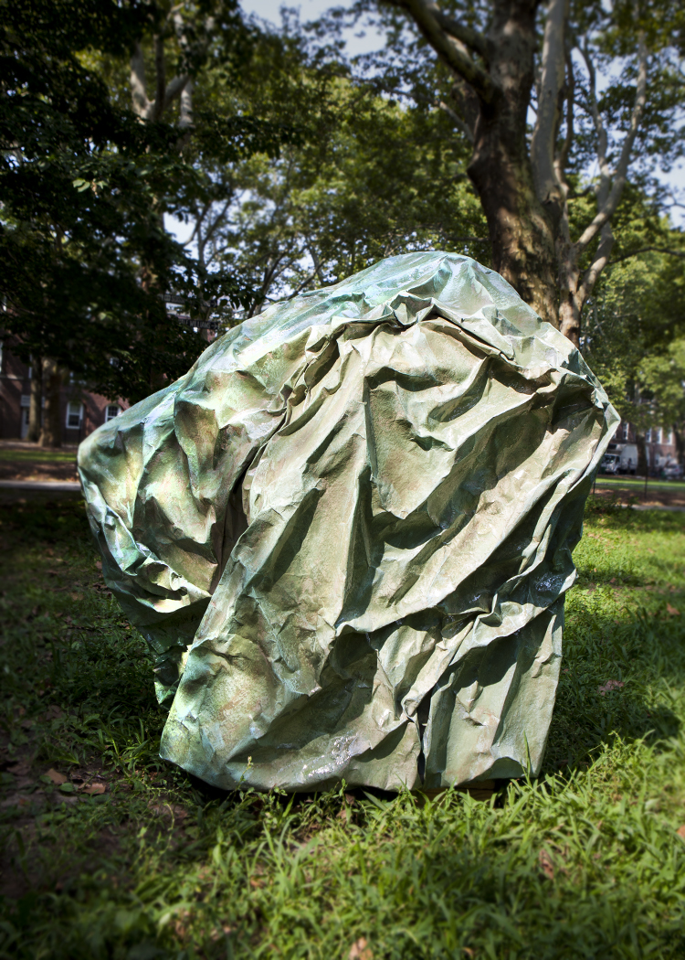Agnes Deja sculpture painting installation new york governors island art fair 2018